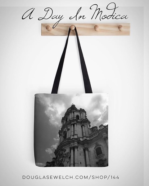 Celebrate A Day In Modica, Sicily with these Totes and Much More!
