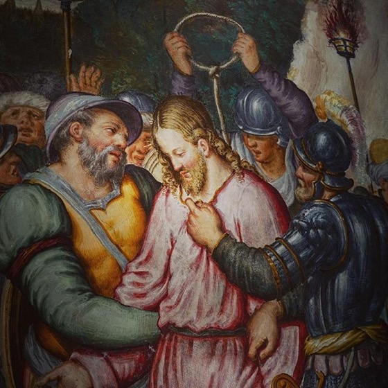 Painting Detail, San Maurizio al Monastero Maggiore via Instagram