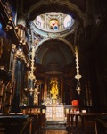 Interior Chiesa di Santa Maria del Carmine via Instagram