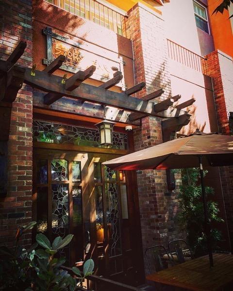 Along the street in Burbank via Instagram