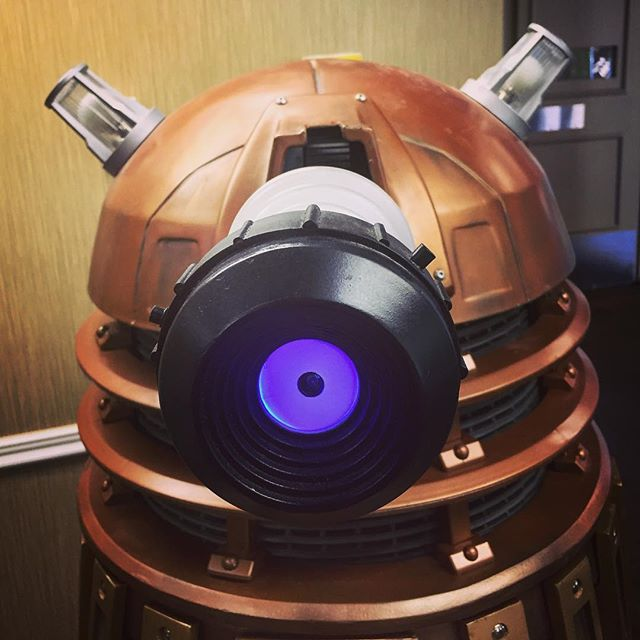Dalek Invasion at WhoCon, San Diego via Instagram