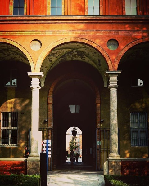 Doorways of Milano via Instagram