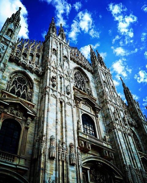 Duomo di Milano, Milano, Italy via Instagram