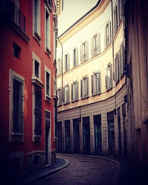 Just around the corner via Instagram