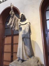 Statue Università Cattolica del Sacro Cuore Milano Italy