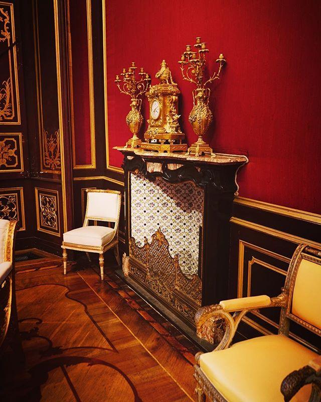 Interior, Villa Reale, Monza, Italy via Instagram