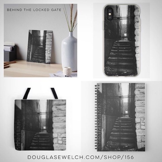 Behind The Locked Gate – Totes, iPhone Cases, Notebooks and Much More!