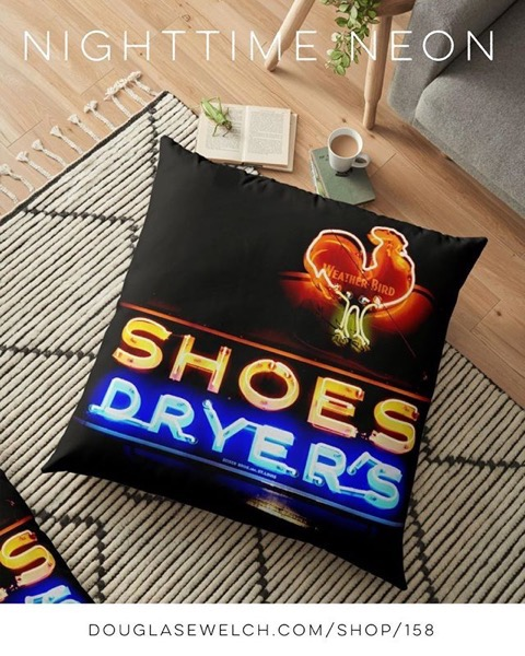 NEW PRODUCTS - Nighttime Neon Floor Pillows and Much More! - Also Tops, Prints, iPhone Cases, Totes, And More!