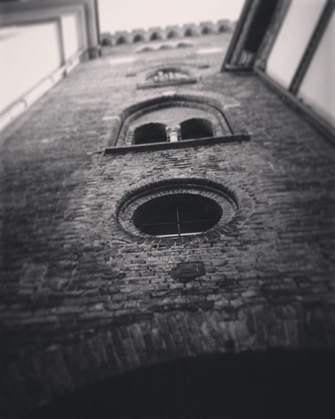 Via Lambro Medieval Tower, Monza, Italy via Instagram