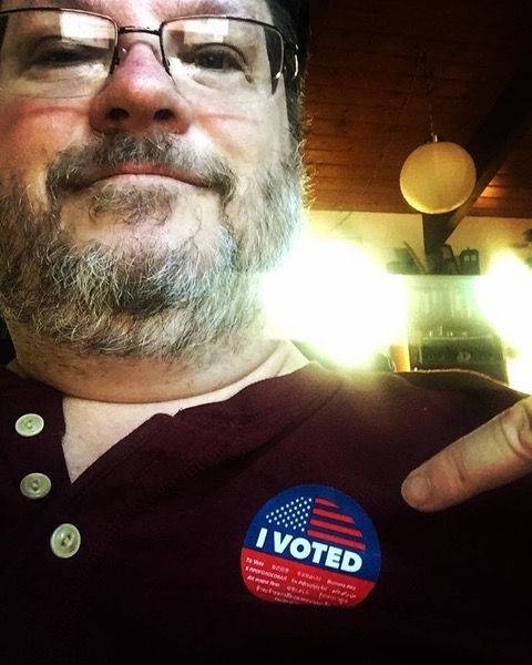 I Voted! Of Course!!! via Instagram