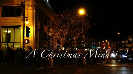 A Christmas Minute 2 - Magic Tree Lighting in Columbia, Missouri [Video]