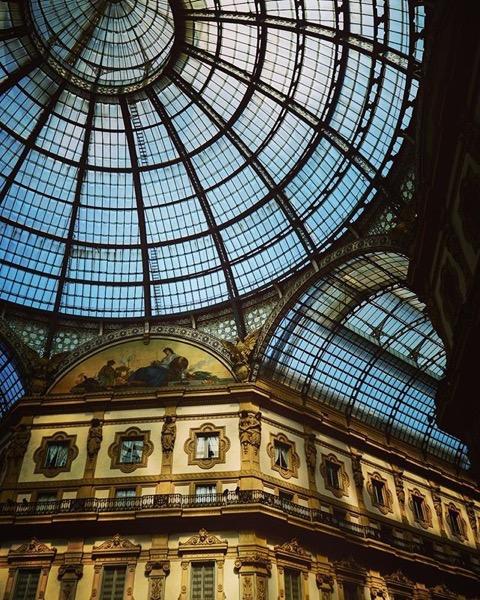 Galleria Vittorio Emanuele II, Milano, Italy via Instagram