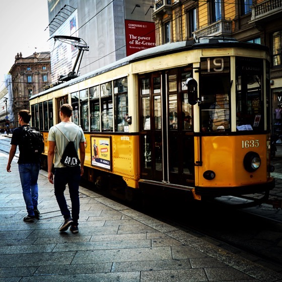 Milano Tram - I love them! via Instagram