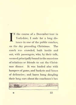 Historical Christmas Books: Old Christmas by Washington Irving (1908)