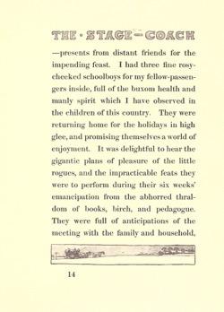 Historical Christmas Books: Old Christmas by Washington Irving (1908)
