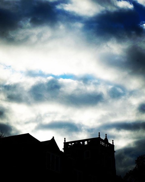 Winter Sky Over Stephens College via Instagram