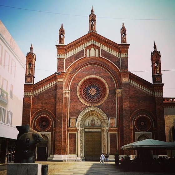 Chiesa di Santa Maria del Carmine, Milano, Italia