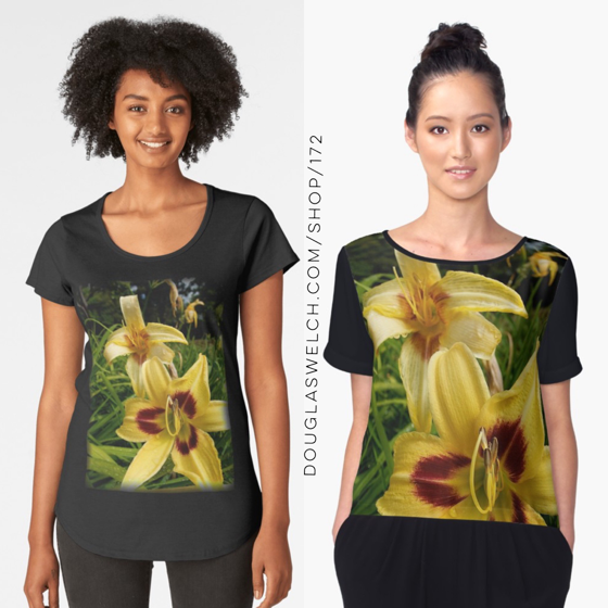 Get These Dazzling Daylily Tops, Totes, iPhone Cases, and Much More!