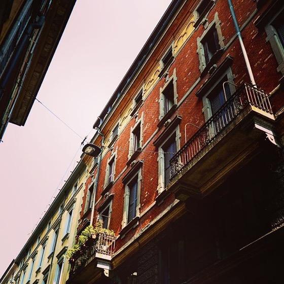 Milan Street Scene via Instagram