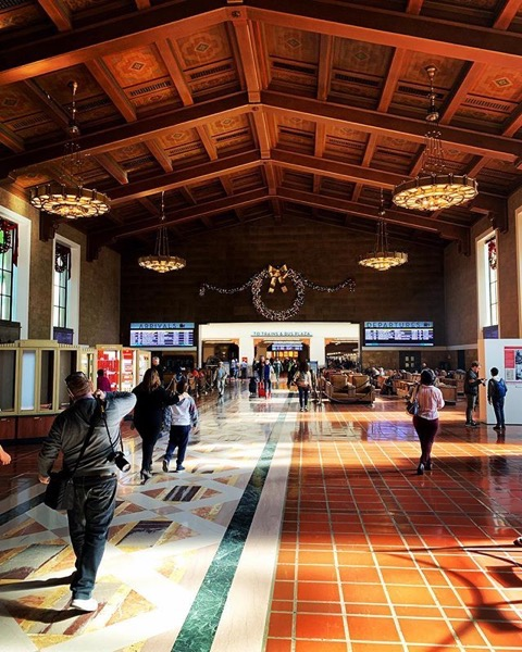 My Los Angeles 73 - Union Station via Instagram