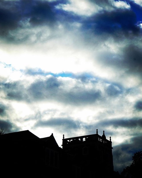 Sky and Silhouette, Columbia, Missouri via Instagram