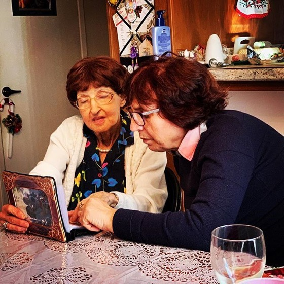 Mary and Francesca Discuss Italian Family History via Instagram