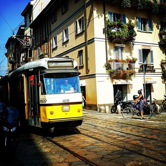 Daily Life In Milano, Italia via Instagram
