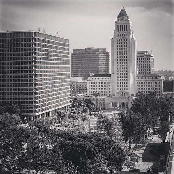 My Los Angeles 75 - Los Angeles City Hall and Grand Park via Instagram