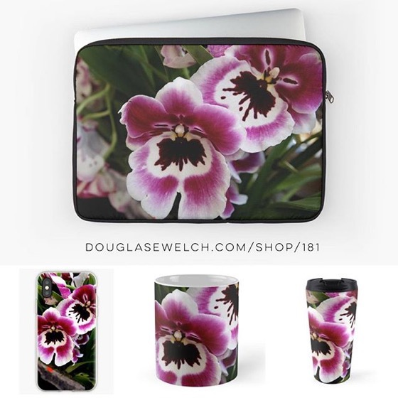 Take Some Orchids To Work With These Laptop Covers, Mugs, iPhone Cases And More! [For Sale]