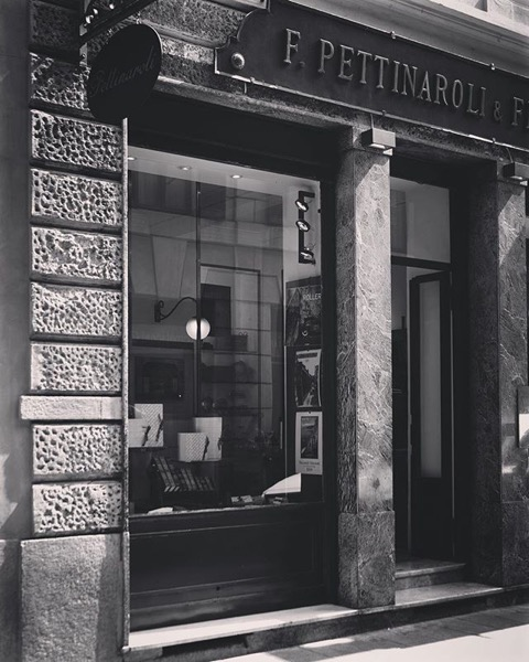Pettinaroli and Figli, Storefront, Milano, Italia via Instagram
