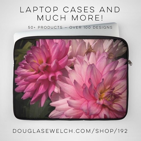 Get These Dazzling Dahlia Laptop Cases And So Much More! [For Sale]