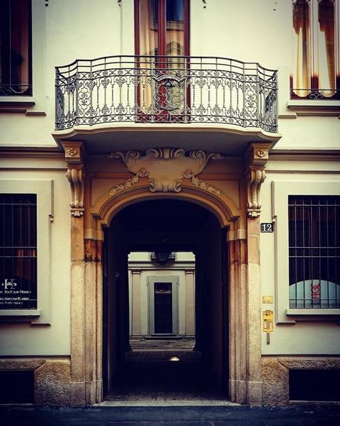 A doorway within a doorway via Instagram