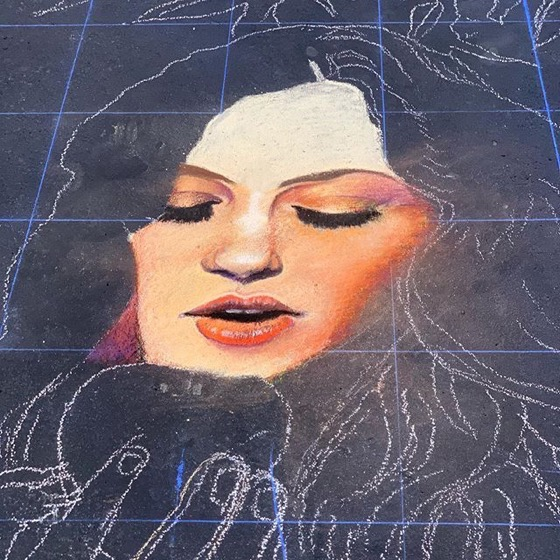Work-In-Progress, Denver Chalk Art Festival via Instagram