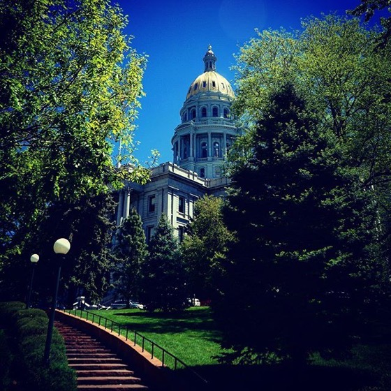 Colorado State Capitol, Denver 2 via Instagram
