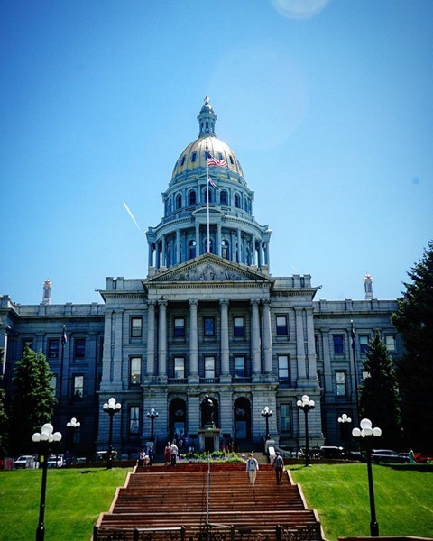 Colorado State Capitol, Denver via Instagram