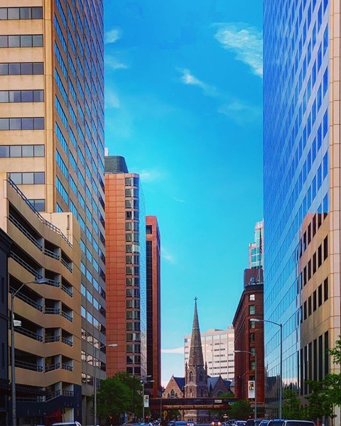 Downtown Denver Scene via Instagram