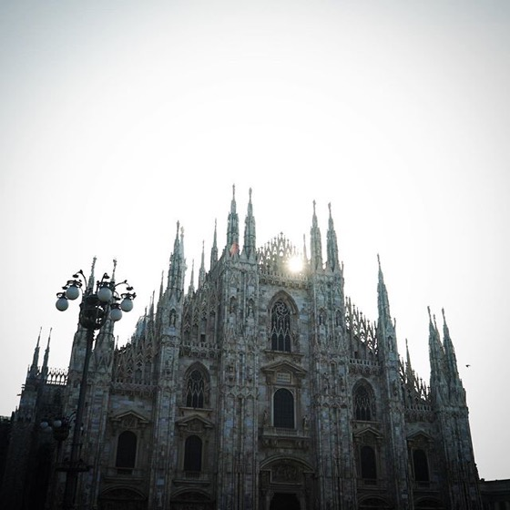 Il Duomo In The Morning via Instagram