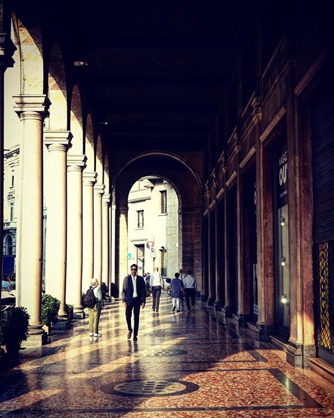 Along the Streets of Milan via My Instagram