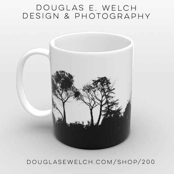 Ridgeline Silhouette, Arroyo Seco by Douglas E. Welch [For Sale]