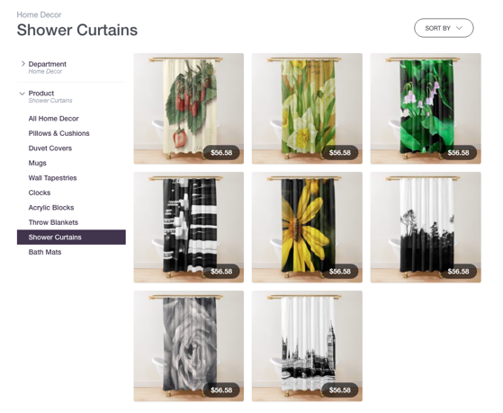 Get These New Shower Curtains and Bath Mats from Douglas E. Welch Design and Photography