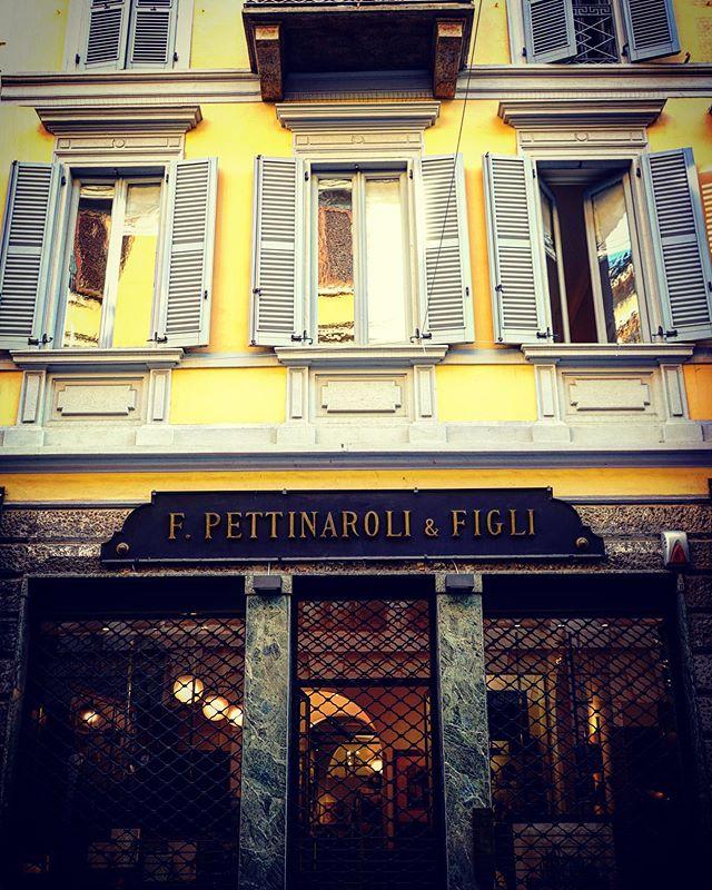 A Milano Street Scene – Pettinaroli & Figli