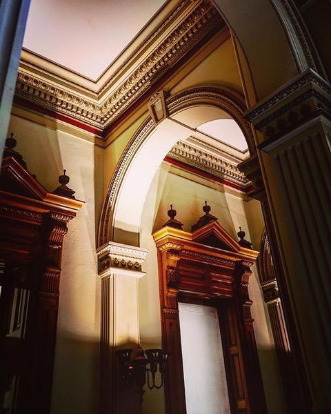 Architectural Detail, Colorado State Capitol, Denver