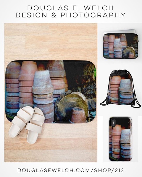 "New Design and Products - Get These ""Waiting for Spring"" Bath Mats and More From Douglas E. Welch Design and Photography [For Sale]"