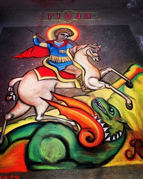 Denver Chalk Art Festival via Instagram