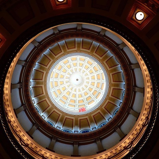 Rotunda, Architectural Detail, Colorado State Capitol, Denver via Instagram