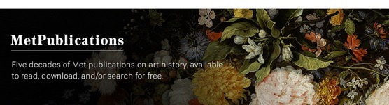Books with Full-Text Online | MetPublications via The Metropolitan Museum of Art