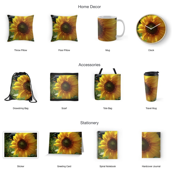 Let The Sun Shine In With These Spring Sunflower Coasters and More From Douglas E. Welch Design and Photography [For Sale]