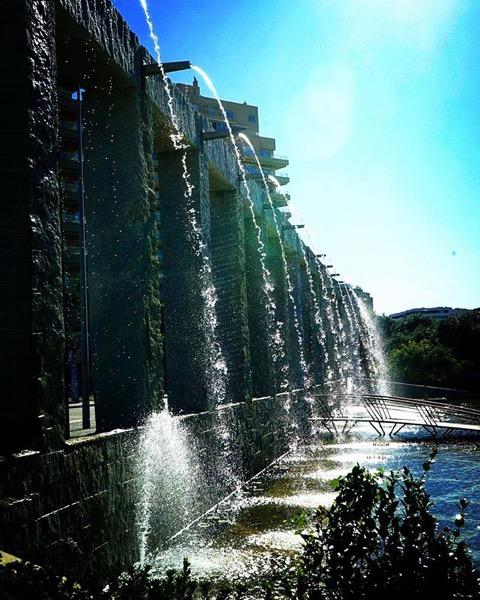 Fountains in Jardim José Roquette, Porto, Portugal via Instagram