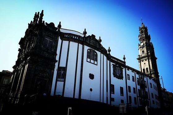 Clérigos Church and Tower, Porto, Portugal via Instagram
