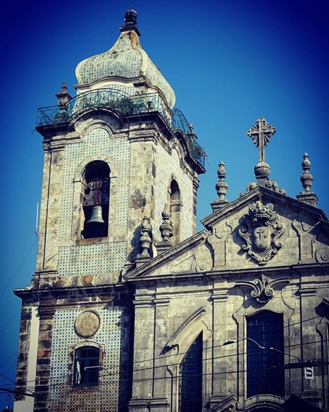 Igreja do Carmo (Detail), Porto, Portugal via Instagram